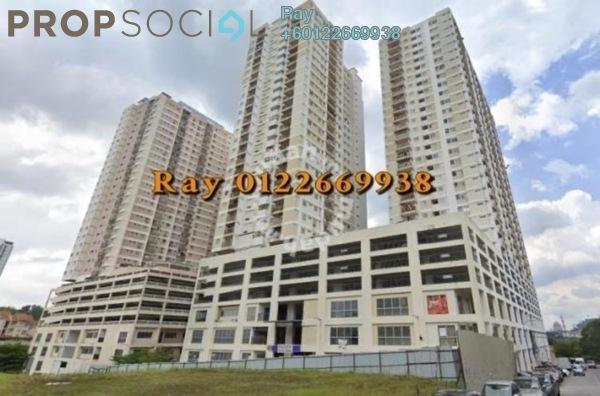 Serviced Residence For Sale in Plaza Medan Putra, Bandar Menjalara Freehold Semi Furnished 4R/2B 378k