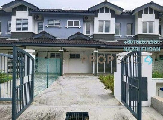 Terrace For Sale in Bandar Puncak Alam, Kuala Selangor Freehold Semi Furnished 4R/3B 453k