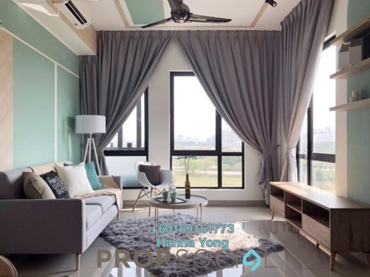 Serviced Residence For Rent in Paramount Utropolis, Glenmarie Freehold Fully Furnished 3R/2B 2.9k