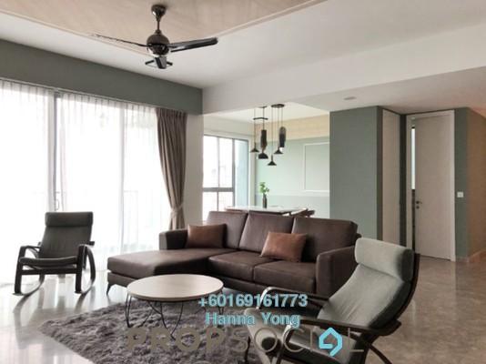 Condominium For Rent in Kiaramas Danai, Mont Kiara Freehold Fully Furnished 3R/4B 8.5k