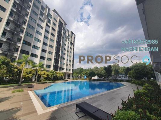 Apartment For Sale in Suria Rafflesia, Setia Alam Freehold Unfurnished 3R/2B 260k