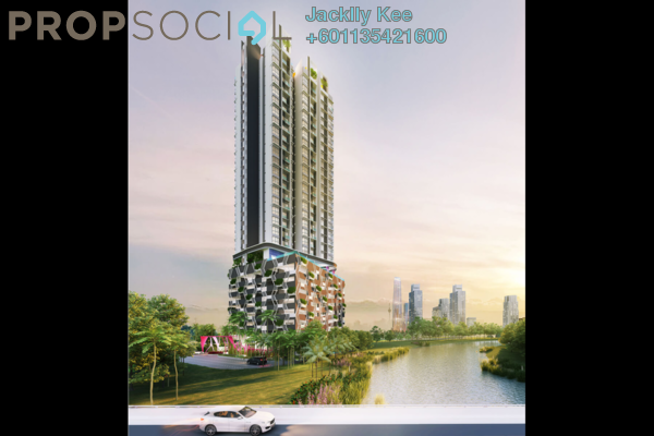 Condominium For Sale in Bliss Bayu Gasing Residency, Old Klang Road Freehold Semi Furnished 3R/2B 500k