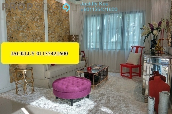 Condominium For Sale in Parc 3, Cheras Freehold Semi Furnished 2R/2B 552k