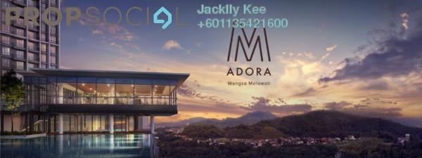 Condominium For Sale in M Adora, Wangsa Maju Freehold Semi Furnished 3R/2B 500k