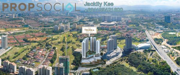 Condominium For Sale in The Tropika, Bukit Jalil Freehold Semi Furnished 3R/2B 889k