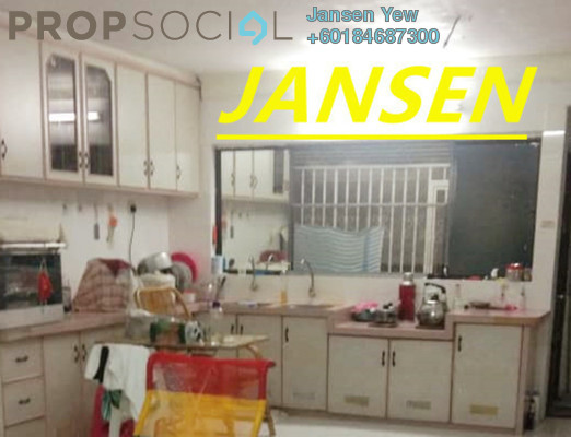 Apartment For Sale in Desa Permai Indah, Sungai Dua Freehold Semi Furnished 2R/2B 180k