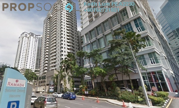 Condominium For Rent in Seri Bukit Ceylon, Bukit Ceylon Freehold Fully Furnished 1R/1B 2.3k