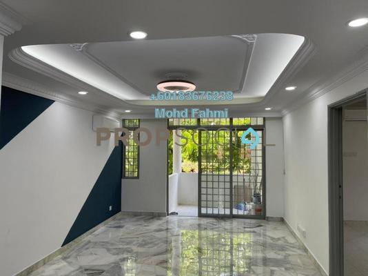 Apartment For Sale in Casa Ria, Cheras Leasehold Semi Furnished 2R/2B 420k