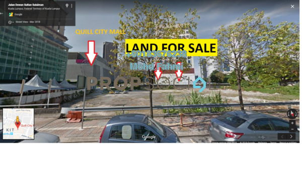 Land For Sale in Crest Jalan Sultan Ismail, KLCC Freehold Unfurnished 0R/0B 160m