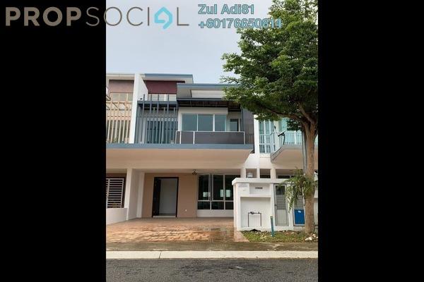 Terrace For Sale in Cassia @ Garden Residence, Cyberjaya Freehold Unfurnished 3R/2B 880k