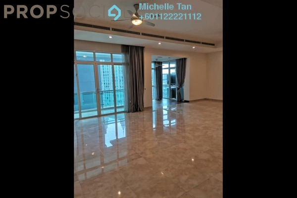 Serviced Residence For Rent in The Pearl, KLCC Freehold Semi Furnished 3R/3B 8k