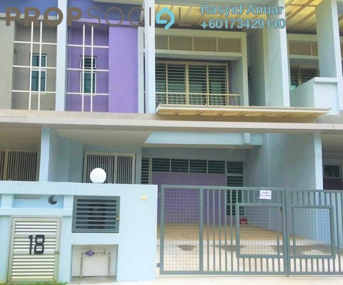 Terrace For Rent in Chimes, Bandar Rimbayu Freehold Semi Furnished 4R/4B 1.6k