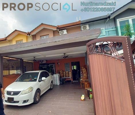 Terrace For Sale in Taman Ukay Bistari, Ukay Leasehold Semi Furnished 4R/3B 700k