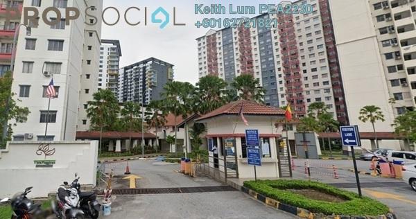 Apartment For Rent in Vista Pinggiran, Bandar Putra Permai Freehold Fully Furnished 3R/2B 1k