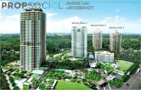 Duplex For Sale in Molek Pine 3, Johor Bahru Freehold Semi Furnished 5R/6B 1.58m