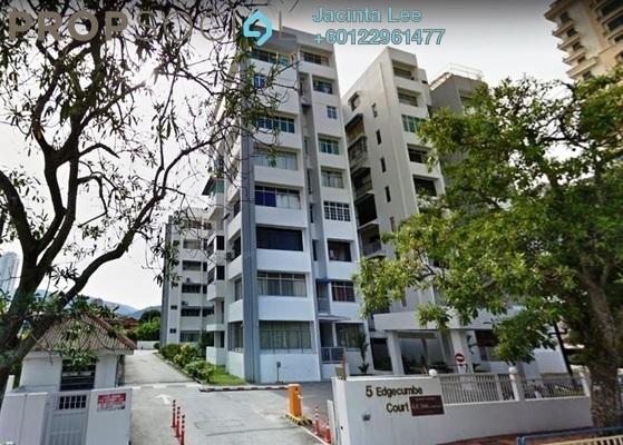 Condominium For Sale in Edgecumbe Court, Pulau Tikus Freehold Semi Furnished 5R/4B 732k