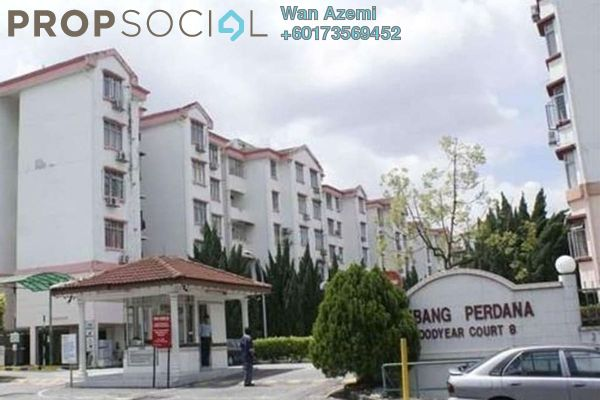 Apartment For Sale in Goodyear Court 8, UEP Subang Jaya Freehold Unfurnished 3R/2B 350k