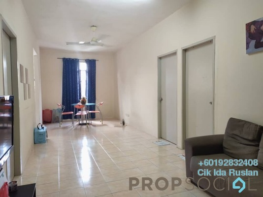 Apartment For Sale in Seremban Putra Apartments, Seremban Freehold Unfurnished 3R/2B 175k