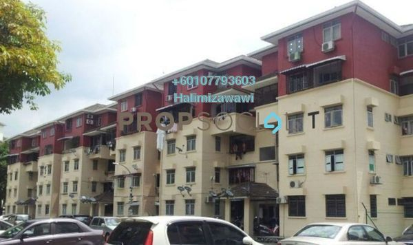 Apartment For Sale in Tulip Apartment, Pandan Indah Freehold Unfurnished 3R/2B 320k
