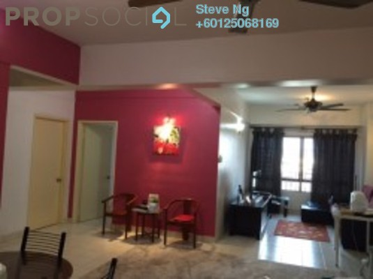 Condominium For Sale in Glen View Villa, Cheras Freehold Unfurnished 3R/2B 330k