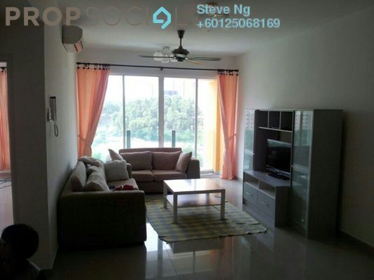 Condominium For Sale in Ampang Putra Residency, Ampang Freehold Semi Furnished 3R/2B 470k