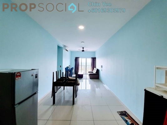 Condominium For Rent in Savanna Executive Suites, Southville City Freehold Semi Furnished 3R/2B 1.1k