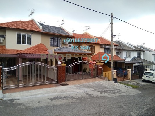 Terrace For Sale in Taman Len Sen, Cheras Freehold Semi Furnished 4R/3B 468k