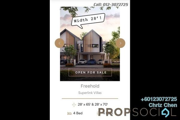 Villa For Sale in Kajang Town, Kajang Freehold Unfurnished 4R/4B 1.2m
