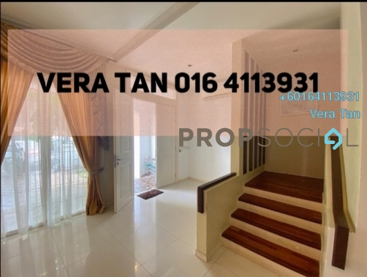 Terrace For Sale in Ariza, Seri Tanjung Pinang Freehold Fully Furnished 5R/6B 2.05m