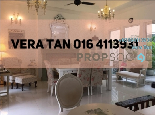 Terrace For Sale in Ariza, Seri Tanjung Pinang Freehold Fully Furnished 4R/4B 2.2m