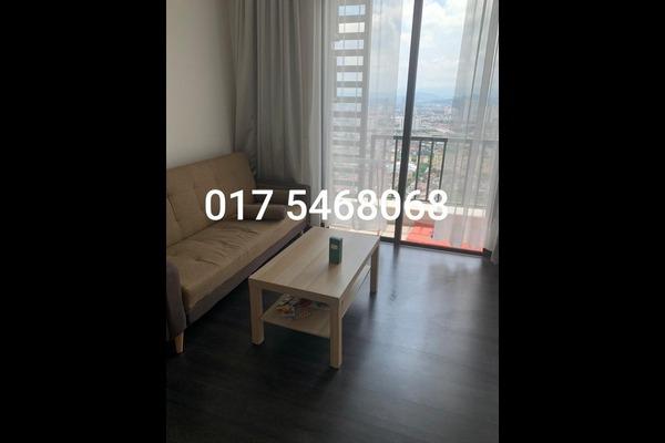 Condominium For Rent in 28 Boulevard, Pandan Perdana Freehold Semi Furnished 1R/1B 1.4k