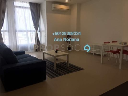 Apartment For Rent in Arcoris, Mont Kiara Freehold Fully Furnished 1R/1B 2.6k