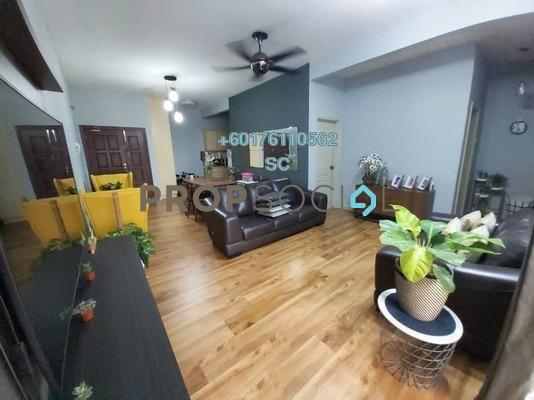 Condominium For Sale in Pelangi Utama, Bandar Utama Freehold Semi Furnished 3R/2B 558k
