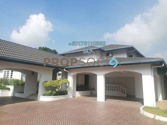 Bungalow For Sale in Taman U-Thant, Ampang Hilir Freehold Semi Furnished 3R/4B 18m