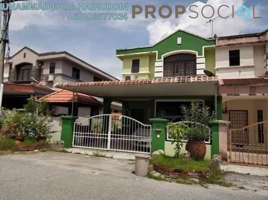 Terrace For Sale in Taman Pinji Perdana, Lahat Freehold Semi Furnished 4R/3B 335k