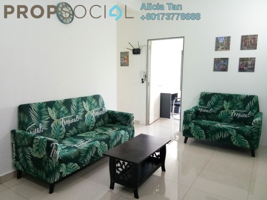 Condominium For Rent in The Olive, Sunsuria City Freehold Fully Furnished 4R/2B 1.8k