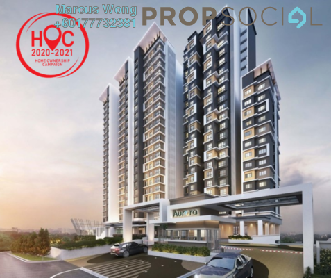Serviced Residence For Sale in Aurora, Subang Jaya Freehold Unfurnished 2R/2B 756k
