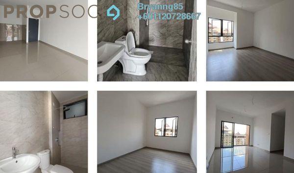 Condominium For Rent in The Hamstead, Bandar Tun Razak Freehold Unfurnished 3R/2B 1.2k