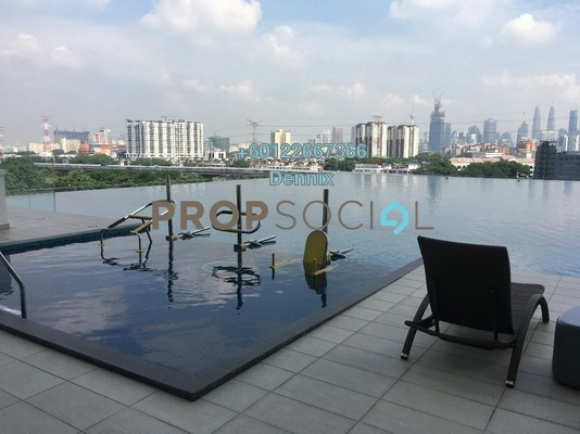 Condominium For Sale in Shamelin Star Serviced Residences, Cheras Freehold Semi Furnished 3R/2B 520k