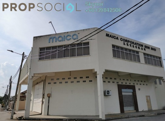 Factory For Rent in Taman Bagan Ajam, Butterworth Freehold Unfurnished 0R/0B 4.2k