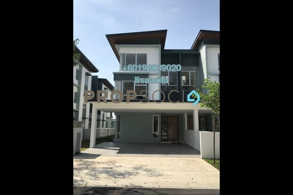 Semi-Detached For Rent in Parkfield Residences @ Tropicana Heights, Kajang Freehold Semi Furnished 5R/5B 2.5k