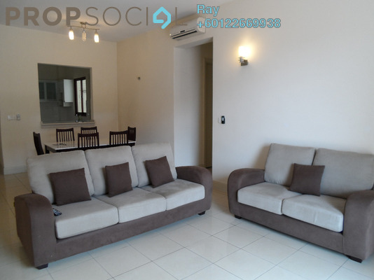 Condominium For Sale in Surian Condominiums, Mutiara Damansara Freehold Fully Furnished 3R/2B 860k