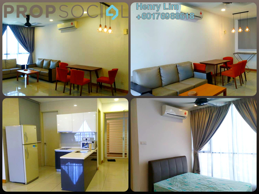 Serviced Residence For Rent in KL Gateway, Bangsar South Freehold Fully Furnished 2R/2B 2.2k