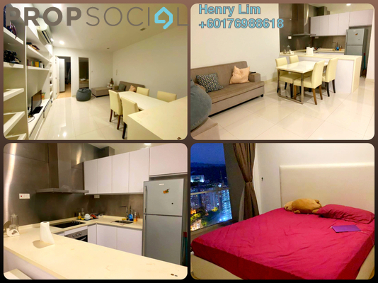 Serviced Residence For Rent in Camellia, Bangsar South Freehold Fully Furnished 1R/1B 1.7k