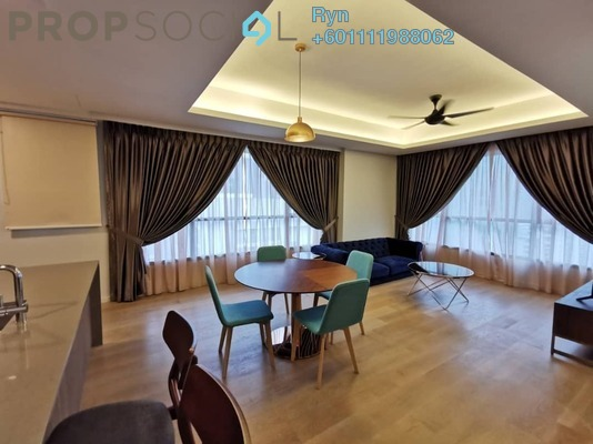 Condominium For Sale in The Ruma, KLCC Freehold Fully Furnished 2R/2B 2.3m