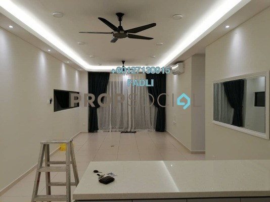 Condominium For Sale in The Andes, Bukit Jalil Freehold Semi Furnished 3R/2B 598k