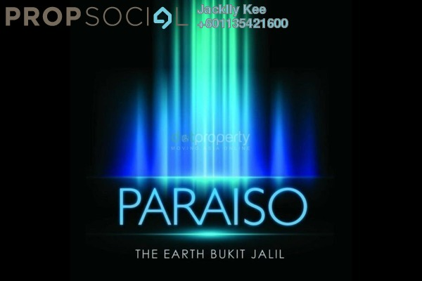 Condominium For Sale in Paraiso @ The Earth Bukit Jalil, Bukit Jalil Freehold Semi Furnished 2R/2B 550k