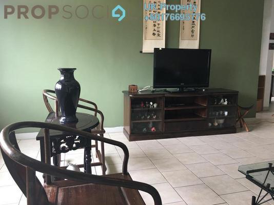 Townhouse For Sale in Meranti Terrace, Kota Kemuning Freehold Fully Furnished 3R/2B 490k