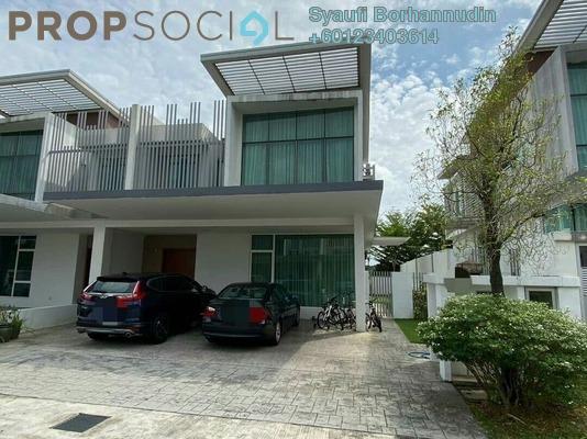 Semi-Detached For Sale in Garden Residence, Cyberjaya Freehold Semi Furnished 4R/4B 1.15m
