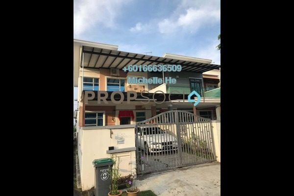 Terrace For Sale in Taman Bukit Indah 2, Johor Bahru Freehold Semi Furnished 3R/3B 605k